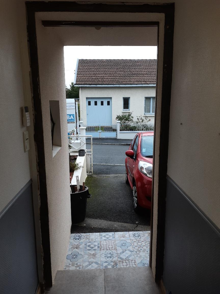 Installation Porte d'Entrée Nantes